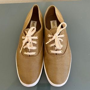 Keds Shoes - Keds Champion Copper Metallic Lace-Up Sneakers 8.5